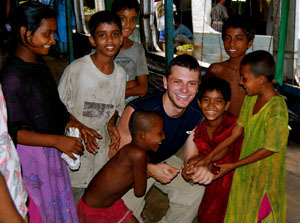 Photo of Homeless Children in Bangladesh with Mark Weber