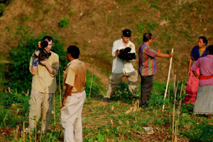 Film Crew in Bangladesh with Mark Weber